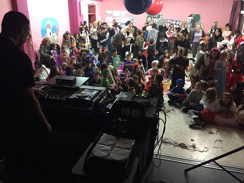 dj για παιδικά πάρτυ