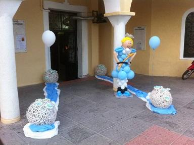 μπαλονια για βαπτιση