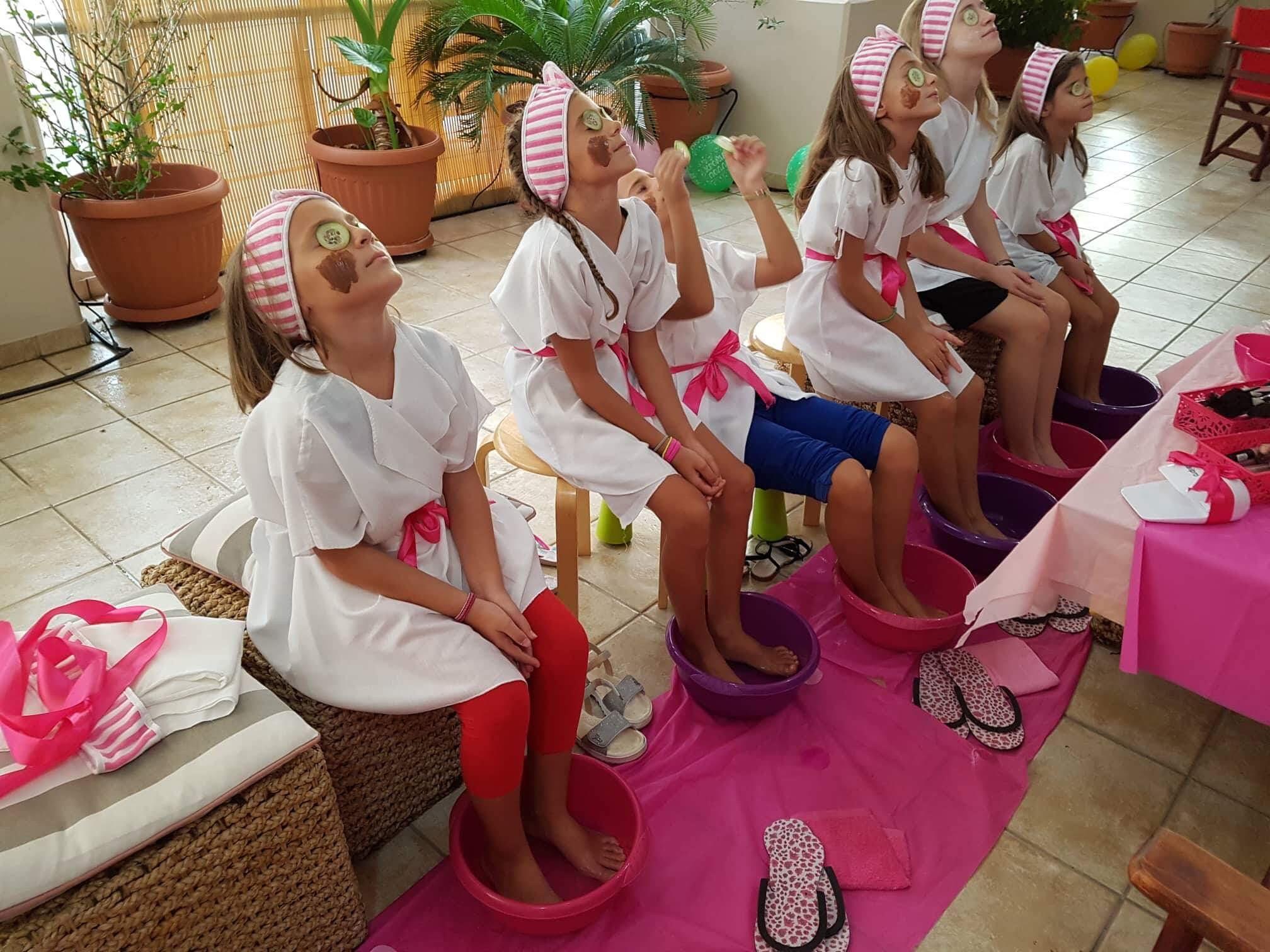 παιδικά πάρτυ σπα για κορίτσια
