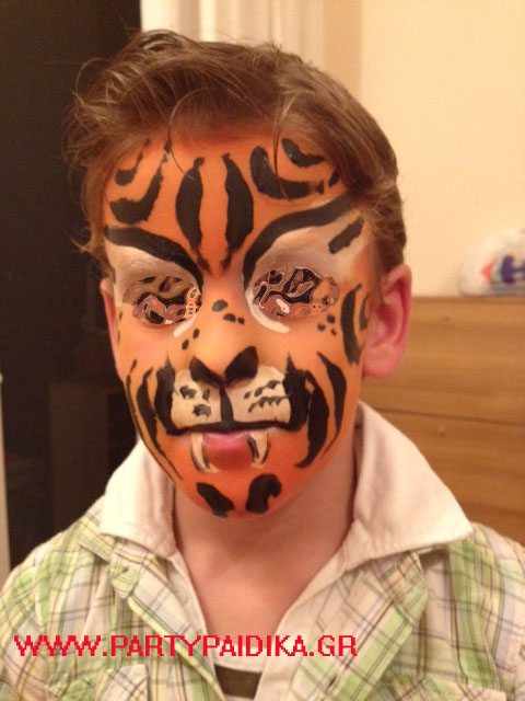 Face painting για παιδικα παρτυ